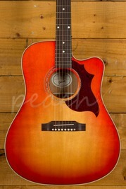 Gibson 2019 Hummingbird Mahogany Avant Garde - Light Cherry Burst