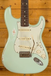 Smitty Guitars 60s Classic S Aged Surf Green Used