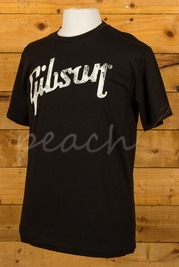 Gibson Logo T-shirt Black
