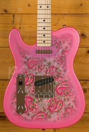 Fender Japan Traditional 69 Pink Paisley Tele Left Handed