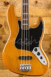 Fender Vintera 70s Jazz Bass Pau Ferro Aged Natural