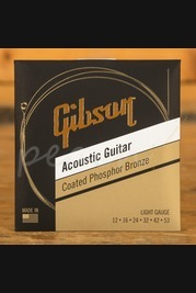Gibson Coated Phosphor Bronze Strings - Lights