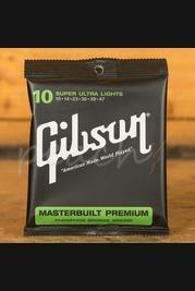 Gibson Masterbuilt Premium Phosphor Bronze 10-47 Strings