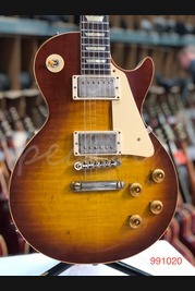Gibson Custom 60th Anniversary 59 Les Paul Std Cherry Teaburst VOS NH