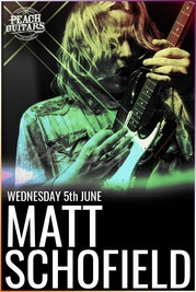 Matt Schofield Masterclass Ticket - 5th June