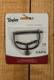 Taylor Capo 12 String Black Nickel