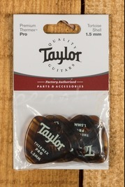 Taylor Premium 346 Thermex Pro Picks Tortoise Shell 1.5
