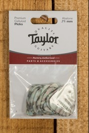 Taylor Celluloid 351 Picks Abalone 0.71