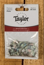 Taylor Celluloid 351 Picks Abalone 0.96