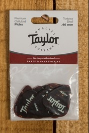 Taylor Celluloid 351 Picks Tortoise Shell 0.46