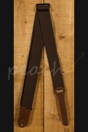 Taylor Strap Chocolate Brown Cotton 2""