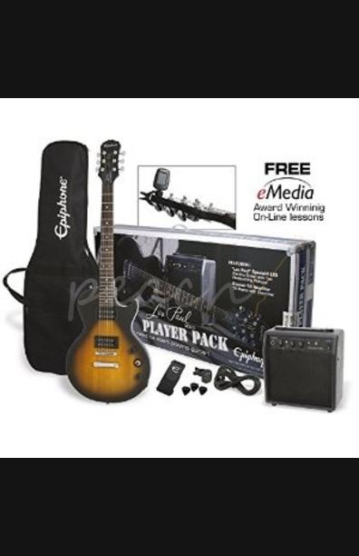 Epiphone Les Paul Player Pack Guitar Package