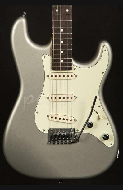 Schecter USA Custom Shop Nick Johnston Trad Atomic Silver