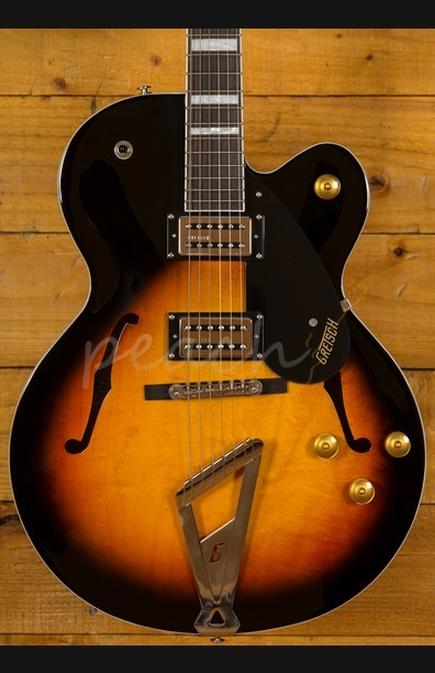 Gretsch G2420 Streamliner SC Hollow Body Aged Brooklyn Burst