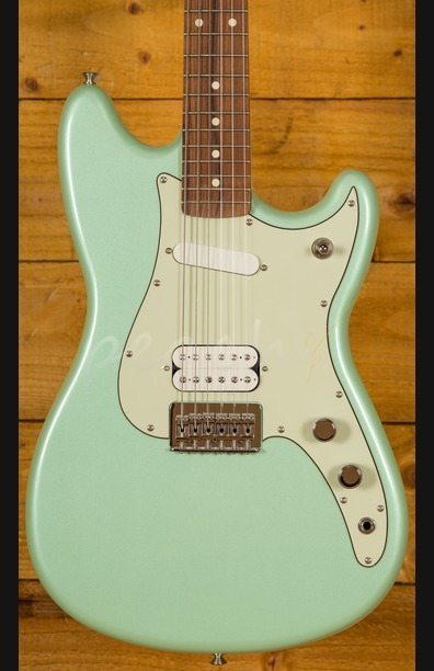 Fender Duo-Sonic HS Pau Ferro Surf Green