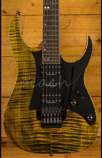 Ibanez RG Premium RG950WFMZ-TGE Tiger Eye Electric Guitar - Peach