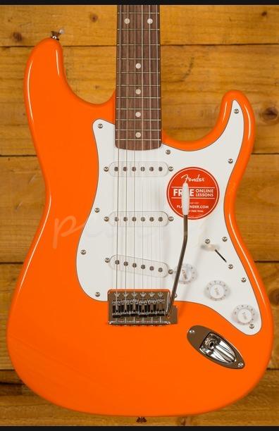 Squier Affinity Strat Maple Competition Orange