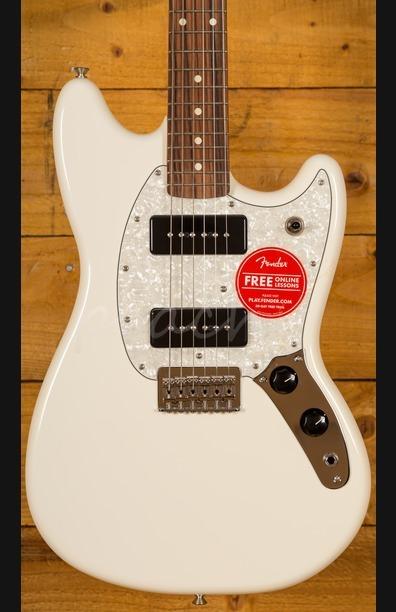 Fender Mustang 90 Pau Ferro Olympic White