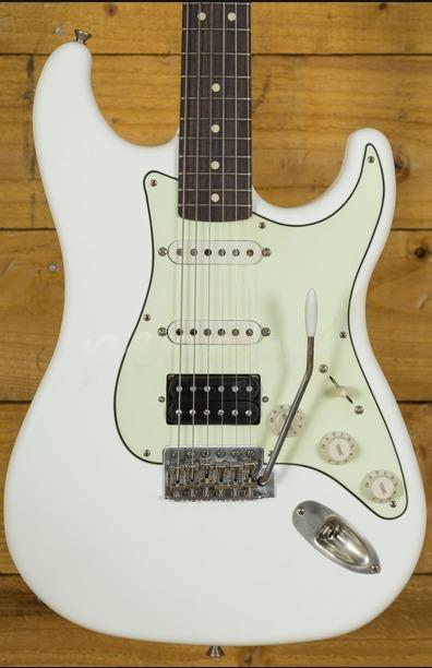 LSL Saticoy One HSS Vintage White - Peach Guitars