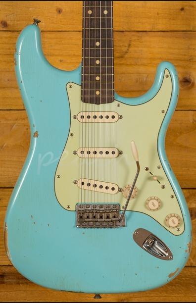 Fender Custom Shop '60 Stratocaster Relic - Daphne Blue