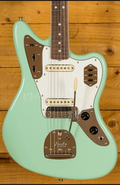 Fender American Original '60s Jaguar - Rosewood Board, Surf Green