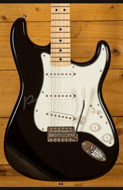 Fender Mex Standard Strat Black Maple