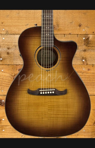 Fender FA-345CE Auditorium Electro Acoustic 3-Tone Tea Burst