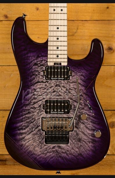 Charvel Pro Mod Sans Dimas Style 1 HH Purple Phaze