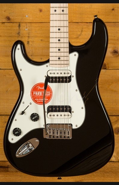 Squier Contemporary Stratocaster HH Left Handed Black Metallic