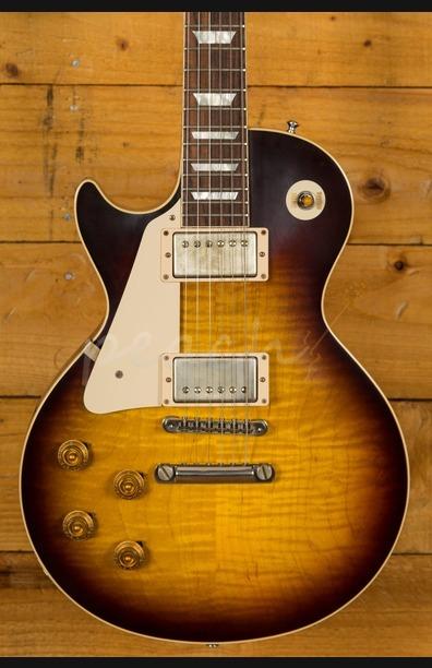Gibson Left Handed '58 Les Paul - Peach Guitars