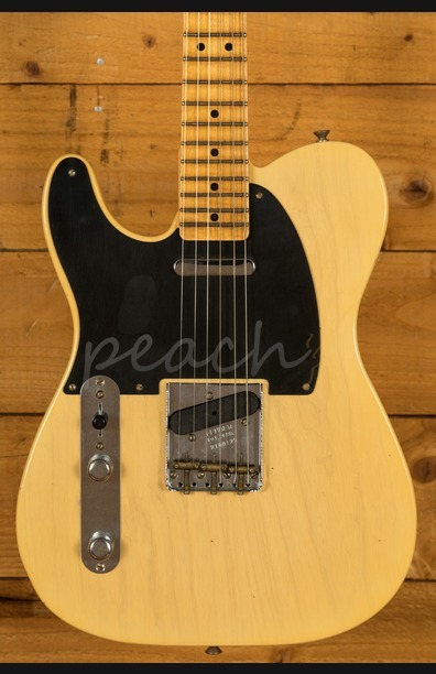 Fender Custom Shop Limited Edition '51 Tele LH Journeyman Faded Nocaster Blonde