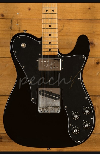 Fender Vintera 70s Tele Custom Maple Neck Black