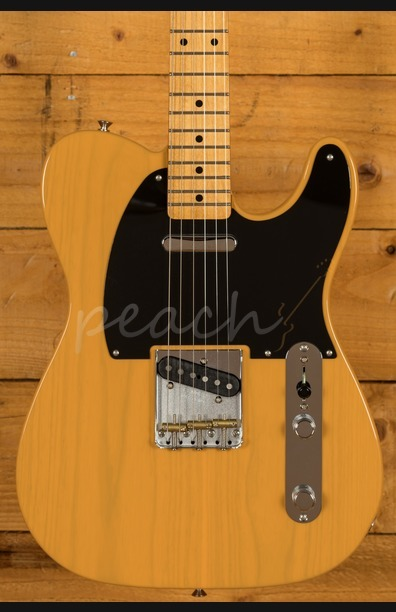 Fender Vintera 50s Tele Mod Maple Neck Butterscotch Blonde
