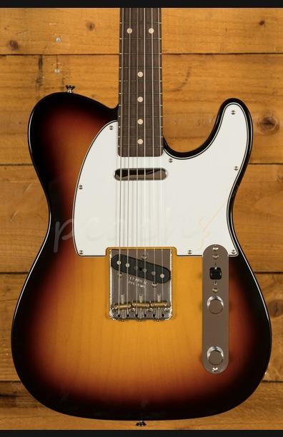 Fender Custom Shop '60 Tele NOS Rosewood 3 Tone Sunburst