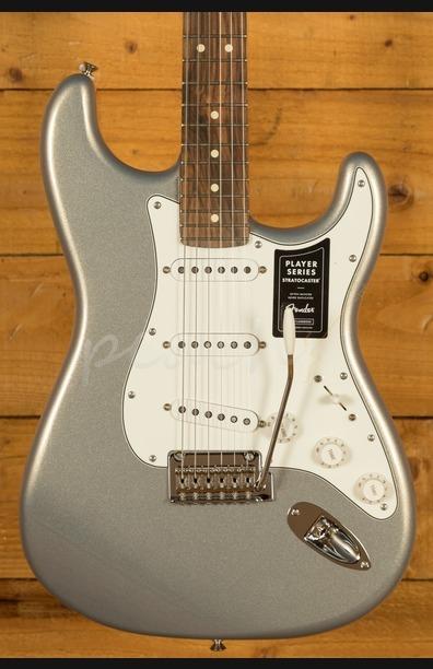 Fender Player Strat - Pau Ferro Silver