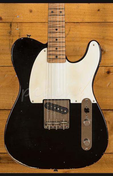 Xotic California Classic XTC-1 Alder Black Medium Aged