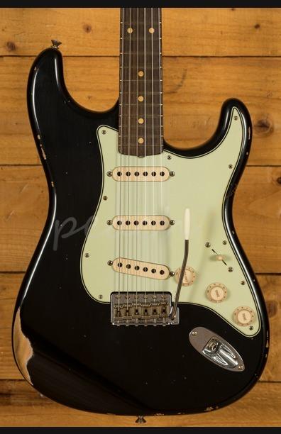 Fender Custom Shop '60 Strat Relic Rosewood Black