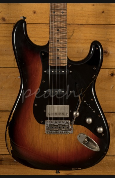 Xotic California Classic XSC-2 3-Tone Sunburst Medium Aged