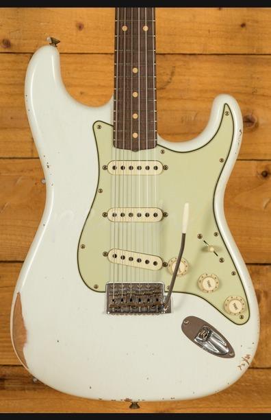 Fender Custom Shop - '60 Strat - Relic Olympic White