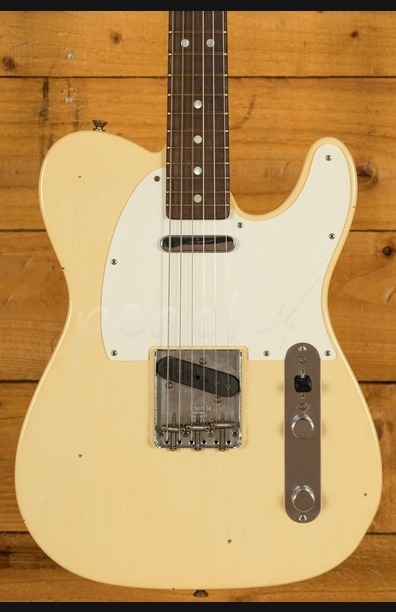 Fender Custom Shop '67 Tele Journeyman Relic Aged Vintage White
