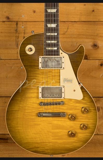 Gibson Custom 60th Anniv 59 Les Paul Green Lemon Fade VOS NH