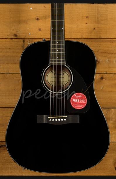 Fender CD-60 V3 Dreadnought - Black