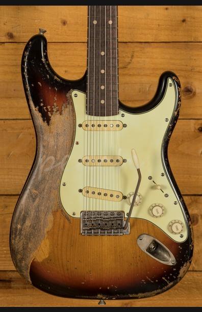 Xotic California Classic XSC-1 3 Tone Sunburst Super Heavy Aged