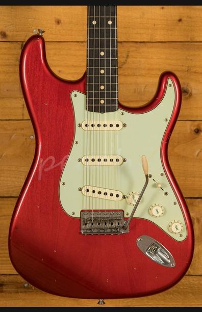 Fender Custom Shop 62 Strat Journeyman Candy Apple Red Used