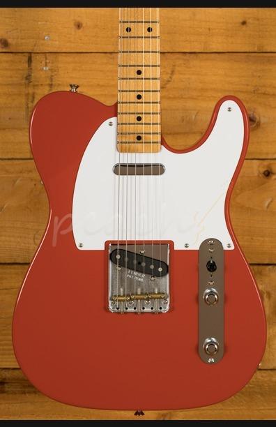 Fender Vintera 50s Tele Maple Neck Fiesta Red