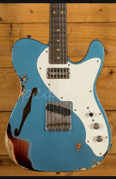 Fender Custom Shop 50s Tele Thinline LPB Over 3TB Heavy Relic