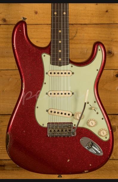 Fender Custom Shop '60 Strat Relic Red Sparkle