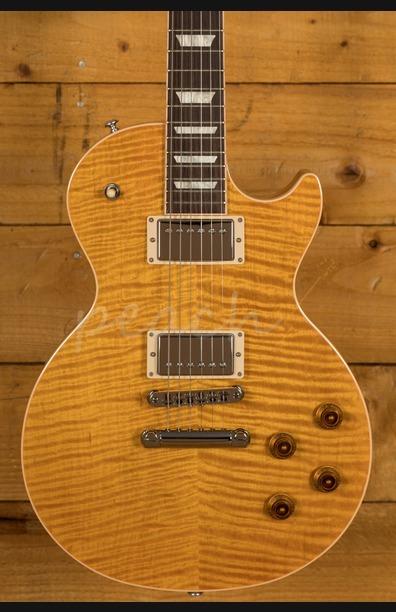 Gibson USA 2019 Les Paul Standard Trans Amber
