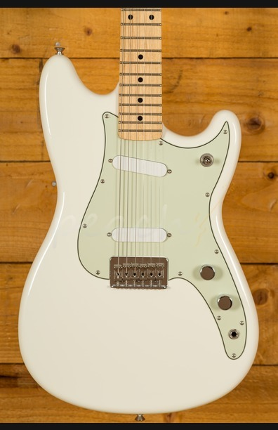 Fender Duo-Sonic Maple Neck Arctic White