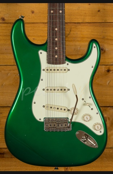 Xotic California Style Classic XSC-1 Candy Apple Green Light Aged